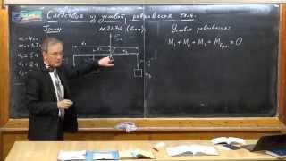 Урок 75. Следствия из условий равновесия тела