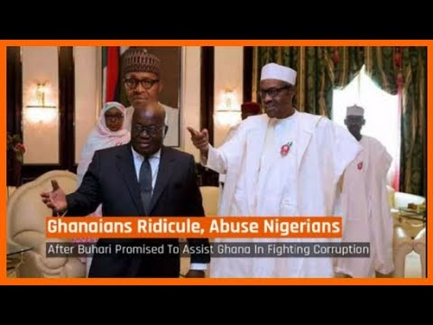 Nigeria News Today: Ghanaians Mock Nigerians Over Buhari's Corruption Fight Promise (08/03/2018)
