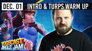 THE WINTER WARM UP w/ TURPS - YOGSCAST JINGLE JAM - 1st December 2016