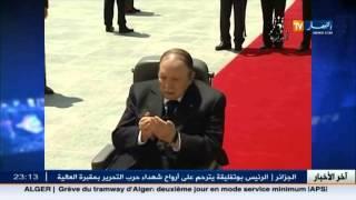 الرئيس بوتفليقة يترحم على أرواح شهداء حرب التحرير بمقبرة العالية