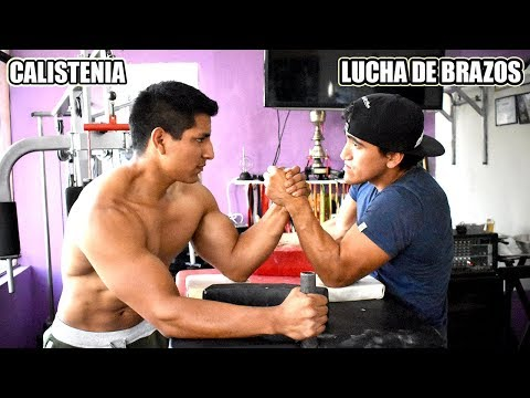 CALISTENIA VS ARMWRESTLING