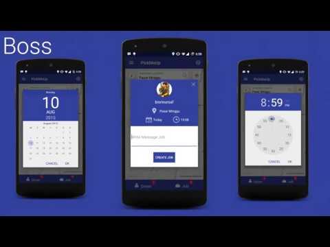 PickMeUp - Mobile Challenge Asia Pacific MCAP 2015 2016