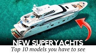 10 Newest Yachts and Largest Personal Cruise Ships that Redefine Luxury