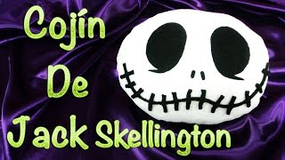 JACK SKELLINGTON | HALLOWEEN CRAFTS | COJÍN / CUSHION DIY - YuureYCrafts