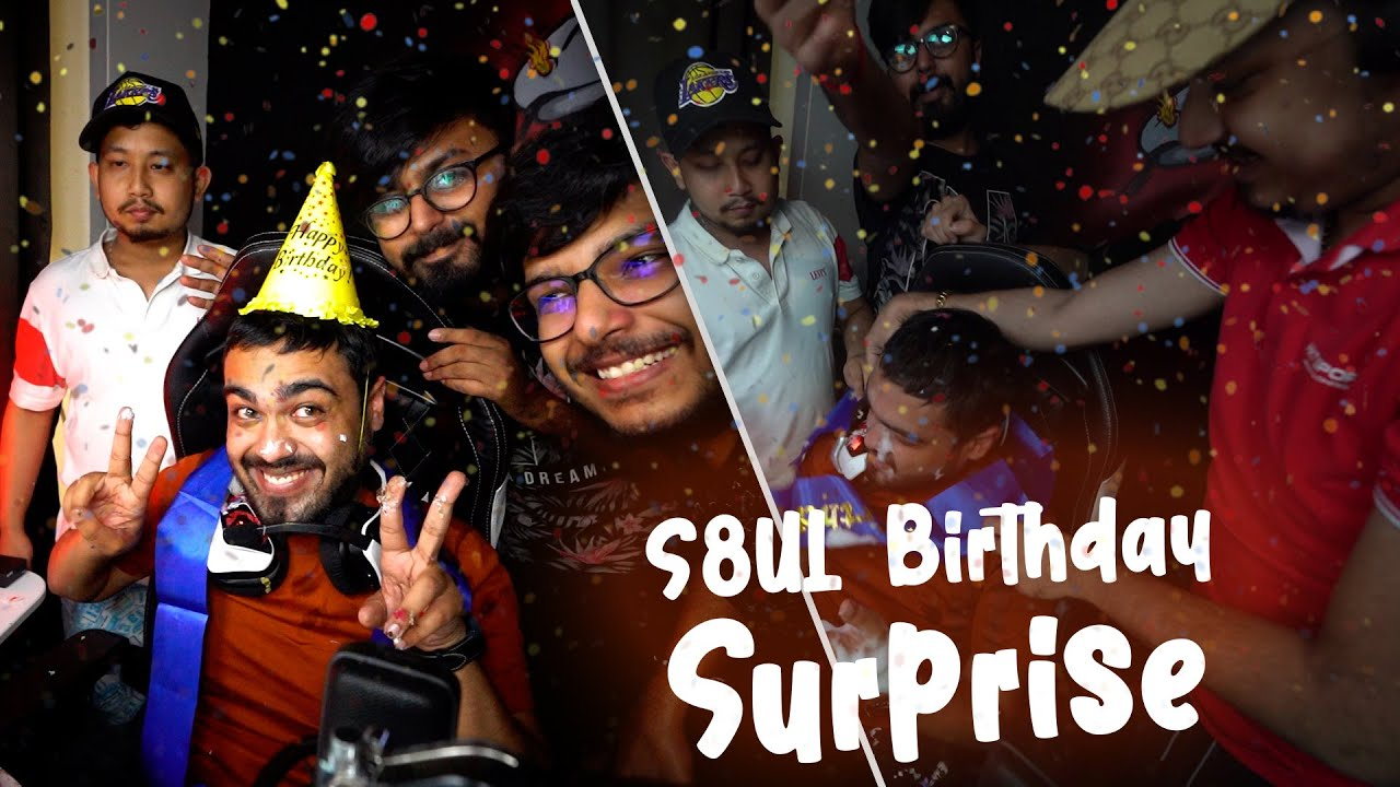 My first Birthday with S8UL | Huge Surprise From S8UL