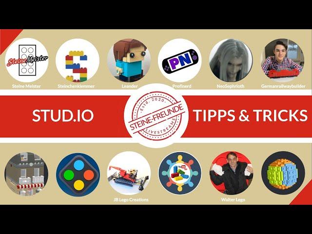 Stud.io Tipps und Tricks von Profis
