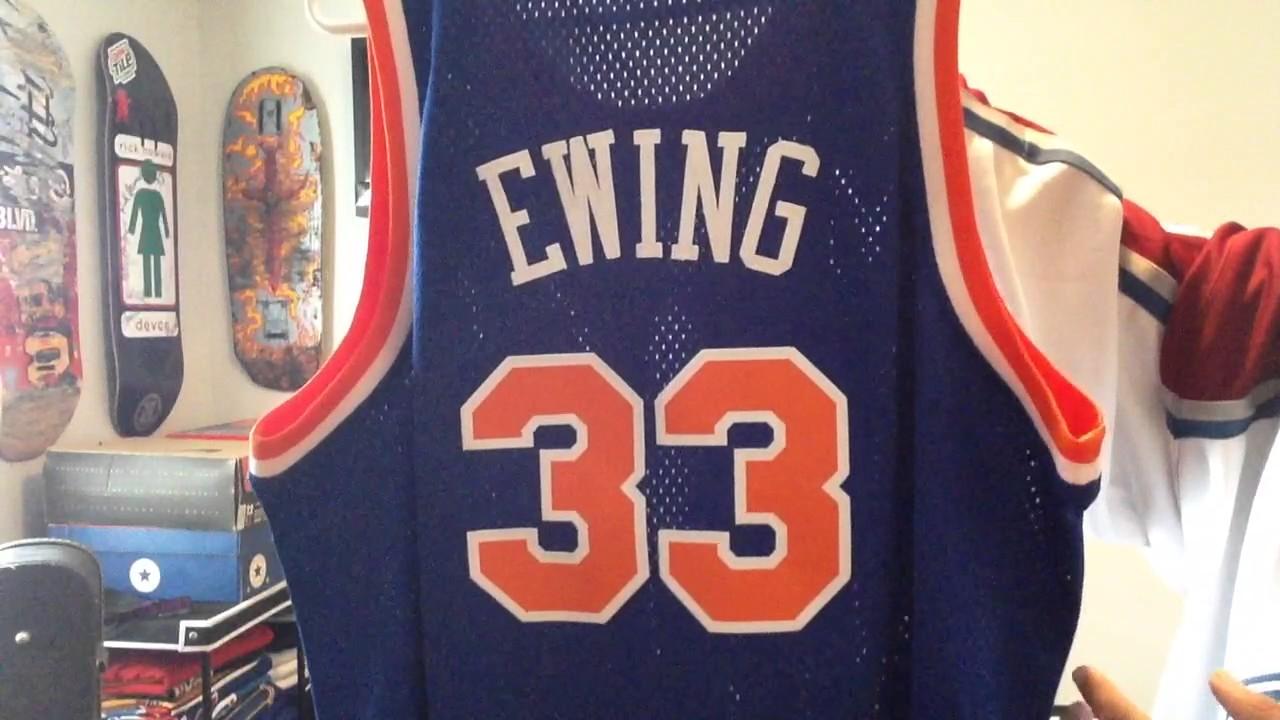 hot sale online 416b7 eac0c New York Knicks Patrick Ewing Jersey