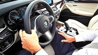 BMW 5 Series 2017 INTERIOR REVIEW BMW G30 INTERIOR New BMW 5 Series Autonomous G30 Interior CARJAM