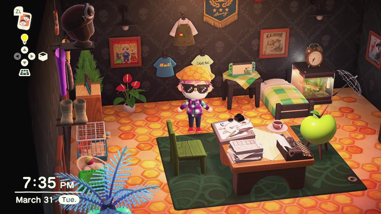 Glow In The Dark Wallpaper Animal Crossing New Horizons Youtube