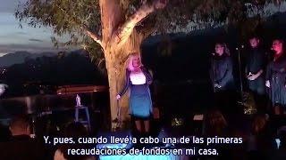 Christina Aguilera - Intro + Change & Fighter Evento Hillary Clinton (Subtítulos español)