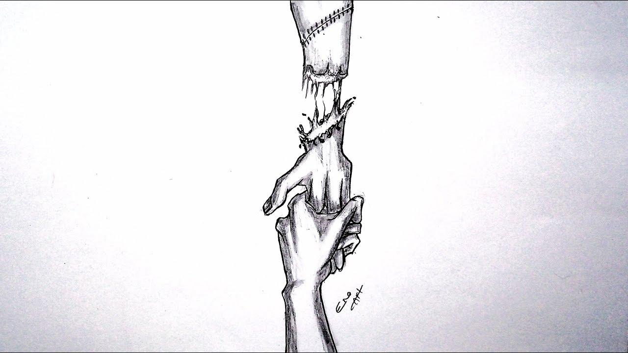 رسم سهل بالرصاص سلسلة الرسوم التعبيرية 16 Youtube