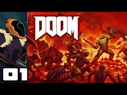 Let's Play Doom [2016] - PC Gameplay Part 1 - It's Fisting Time! thumbnail