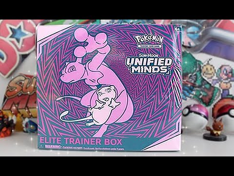 Opening A NEW Unified Minds Elite Trainer Box