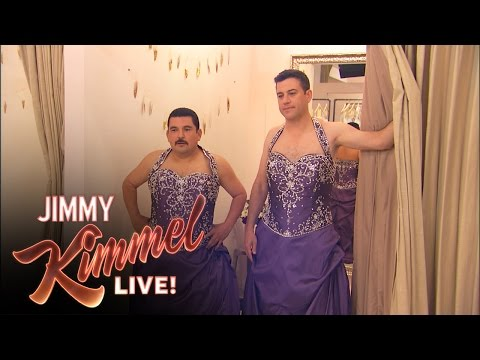 Thumbnail: Bachelorette Kaitlyn Goes Wedding Dress Shopping with Jimmy and Guillermo