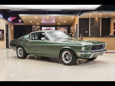 1968 ford mustang bullitt for sale youtube. Black Bedroom Furniture Sets. Home Design Ideas