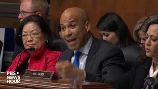 WATCH:  Normalizing Trump campaign's behavior erodes American democracy, Booker says
