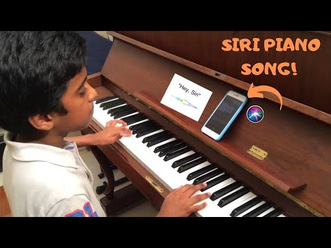 Siri Piano Song