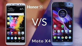 Moto X4 vs Honor 9i - Which one should you buy? - Camera, Battery, Display test