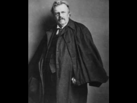 Catholic Social Teaching - GK Chesterton