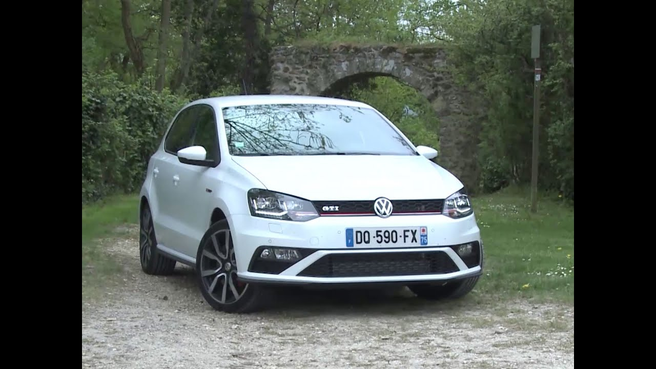 essai volkswagen polo gti dsg7 5 portes 2015 youtube. Black Bedroom Furniture Sets. Home Design Ideas