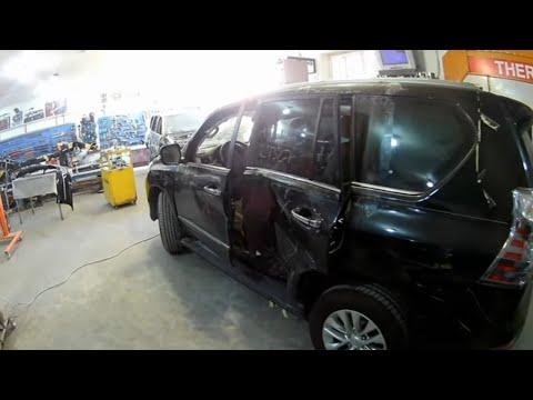 Lexus GX460 Кузовной ремонт в Армении/Body Repair In Armenia