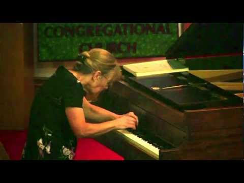 Margery Aumann performs Debussy's Estampes