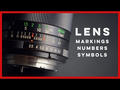 Vintage Camera Lens Numbers, Symbols, and Markings Explained