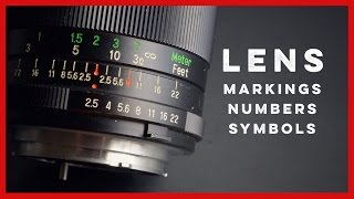 Vintage Camera Lens Numbers, Symbols, and Markings Explained(, 2016-09-17T01:27:19.000Z)
