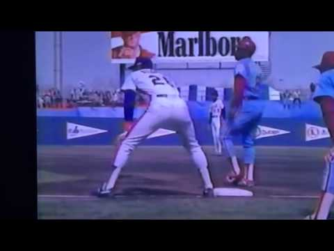Tom Seaver returns to the Mets 1983  VS Philadelphia