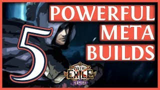 Path Of Exile 3.7 Builds - 5 Powerful Legion Meta Builds #24 (2019)
