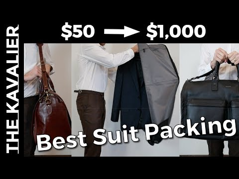 The Garment Bag Guide - The Best Bags for Traveling with Suits (Wrinkle-Free)