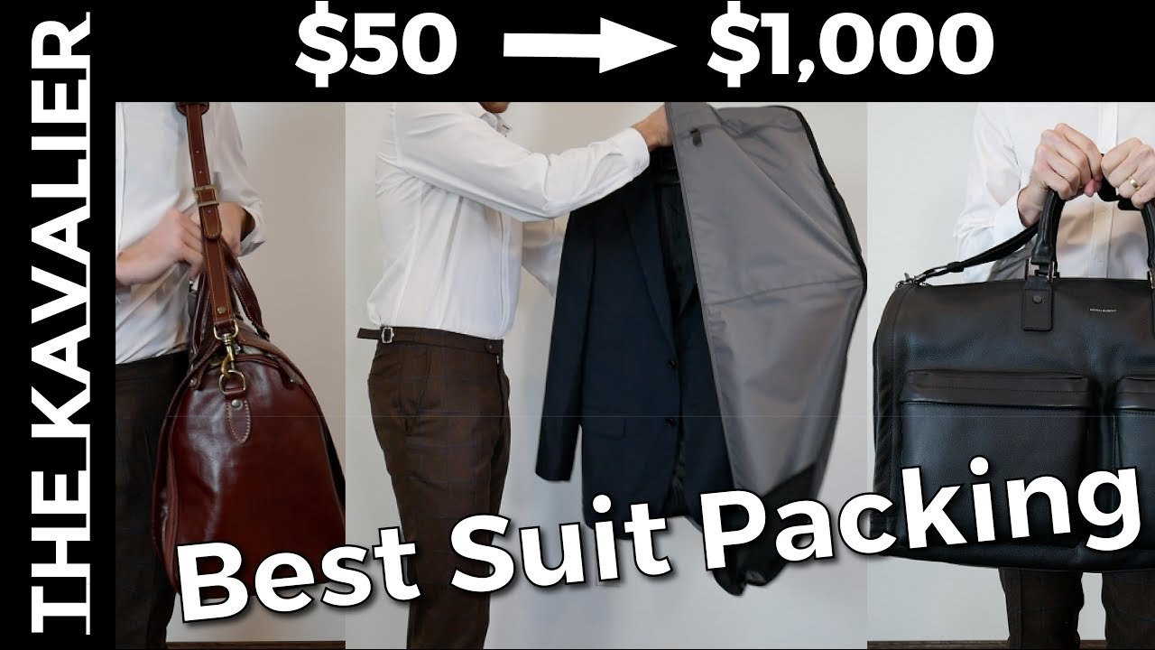 6a639e22418d The Garment Bag Guide - The Best Bags for Traveling with Suits  (Wrinkle-Free)