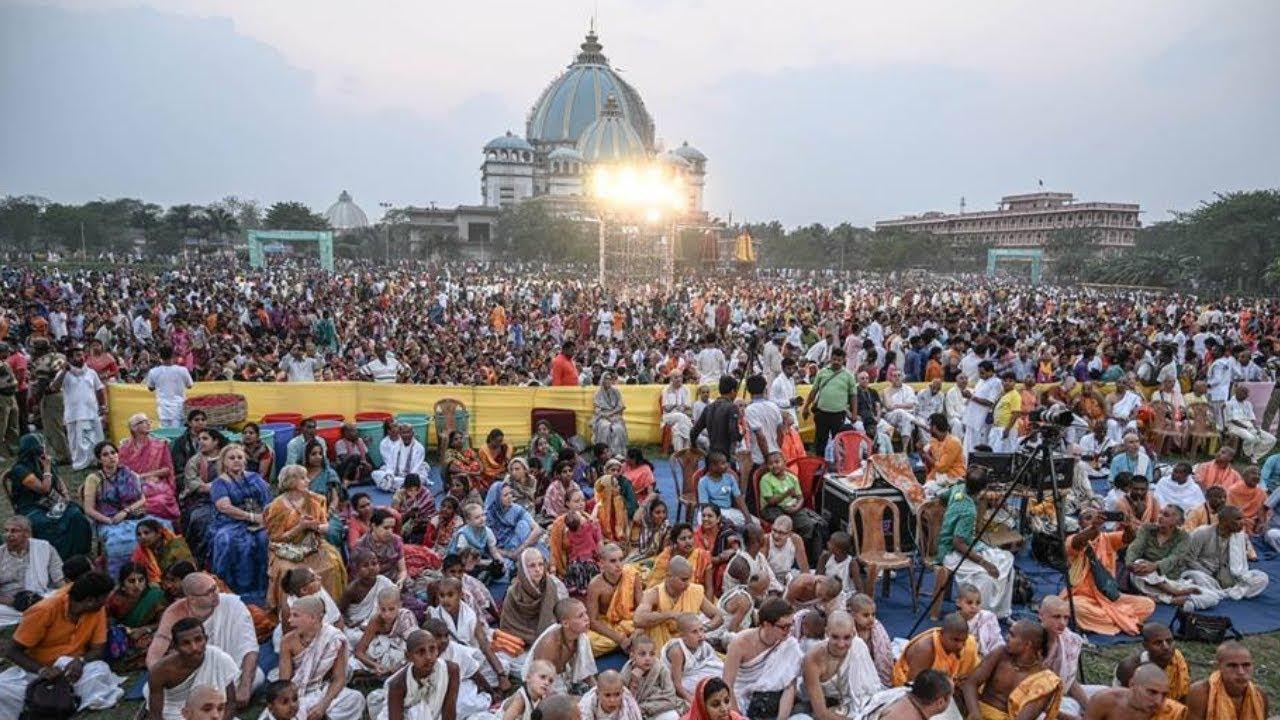 #LIVE Gaura Purnima Abhishek 2019, ISKCON Mayapur