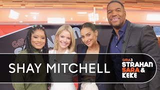 Shay Mitchell Reveals Her Momfession, Talks 'Pretty Little Liars' And More