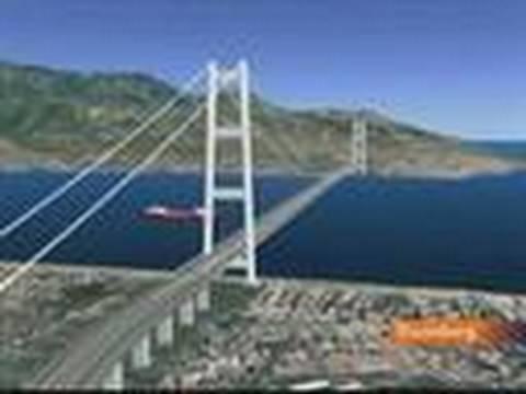 Italy Says Mafia, Critics Won't Derail Sicily Bridge: Video