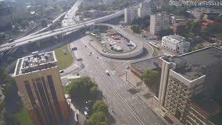 Москва - Нижегородская улица - веб камера 01.07.2020, 04:56