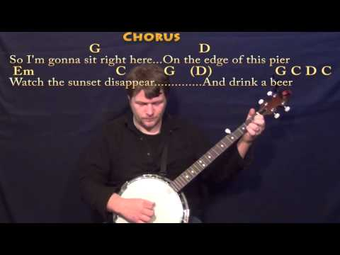 Drink A Beer (LUKE BRYAN) Banjo Cover Lesson in G with Chords/Lyrics