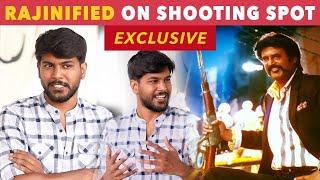 Watching Thalaivar's Petta Marana Mass Stunts Live   Sananth Relishes Behind the Camera Moments