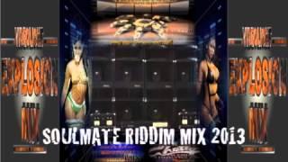 SOULMATE RIDDIM MIX - REGGAE DANCEHALL (VIDEOLIGHT EXPLOSION MIX) 2013