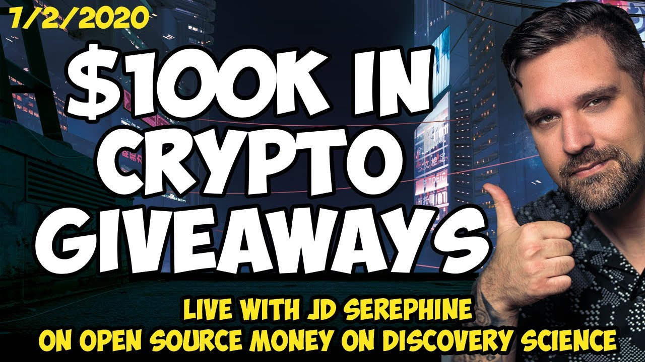 $100k Up For Grabs - 2 Giveaways - LIVE - Open Source Money