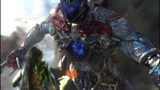 Megazord vs Goldar - Power Rangers Movie Clip (2017)