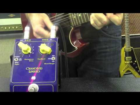 Chandler Overdrive booster - TheGigRig.com Hot Pedal review