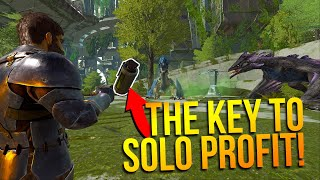 Gambar cover How I get geared as a SOLO! - ARK Solo PvP