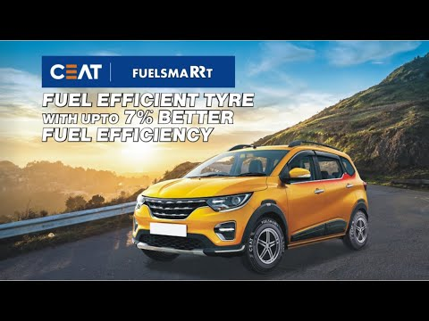 Ceat FuelSmart Fuel Efficient Tyres with 7% Better Fuel Efficiency