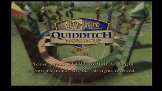 Harry Potter Quidditch World Cup PS2 Review