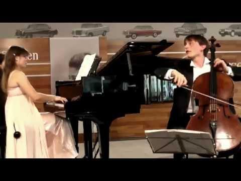 Anna Fedorova   Benedict Klöckner Chopin sonata in G minor Op 65