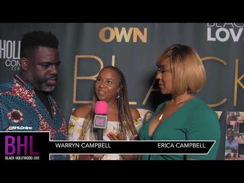 """Interview with Warryn & Erica Campbell at OWN TV's """"Black Love"""" Docuseries"""