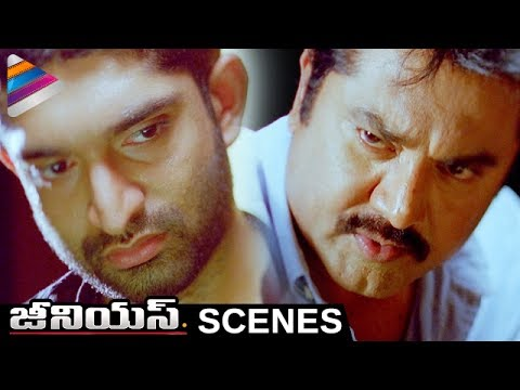 Sarathkumar Interrogates Havish | Genius Telugu Movie Scenes | Shwetha Basu | Telugu Filmnagar