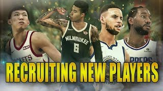 CAN WE TRADE & RECRUIT FOR NEW PLAYERS!? 2K19 MyCareer Ep.29