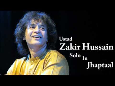 Zakir Hussain - Jhaptaal Solo (10 Beats)